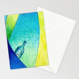 #14 - Message in a bottle Stationery Cards