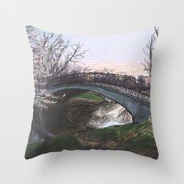 Charles River Esplanade 4 Throw Pillow