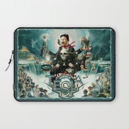 Nikola Tesla Master of Lightning Laptop Sleeve