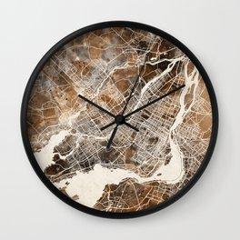 Montreal Wall Clock