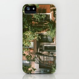 Urban Bicycles Under A Tree iPhone Case