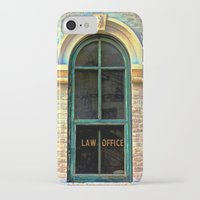 the office iPhone & iPod Cases featuring Law Office by Biff Rendar