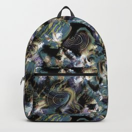 Abstraction , fish , sea Backpack