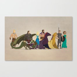 Mhysa's Gang Canvas Print