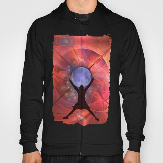 Go for the moon Hoody