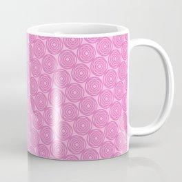 Circles in Pink Coffee Mug