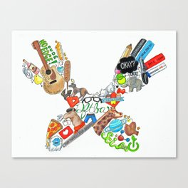 Don't Forget (Traditional) Canvas Print