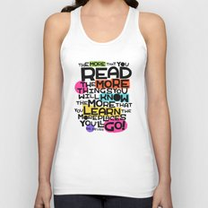 the more you that you read Unisex Tank Top