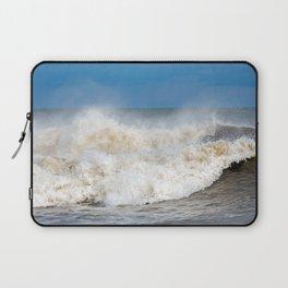 Seaham waves Laptop Sleeve