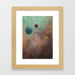 MOVEMENT 4 Framed Art Print