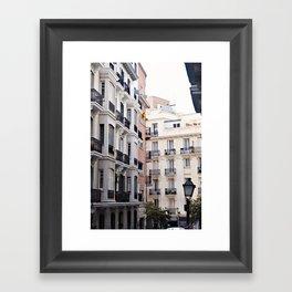 Madrid // Malasaña Framed Art Print
