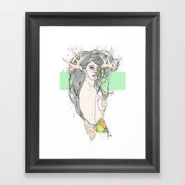 colour blind VI Framed Art Print