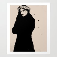 SPANISH SAHARA Art Print