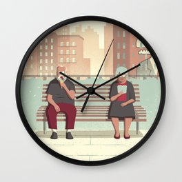 Day Trippers #5 - Rest Wall Clock
