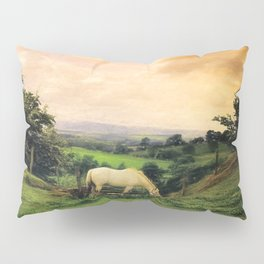 Farmland in Cumbria Pillow Sham