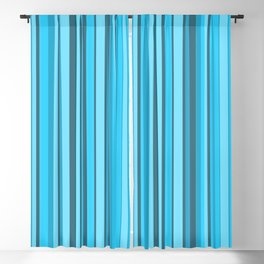 Stripe obsession color mode #7 Blackout Curtain