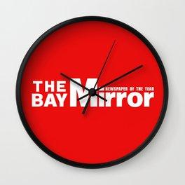 The Bay Miror Logo Wall Clock
