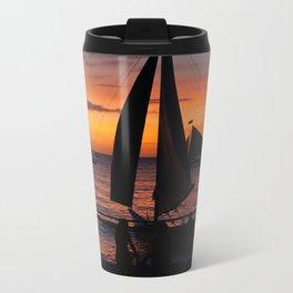 Borocay Sunset Philippines Metal Travel Mug