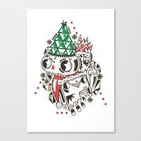 fez Canvas Prints featuring Fez by Polypop