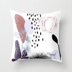 jaguatirica Throw Pillow