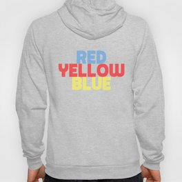Red Yellow Blue Hoody