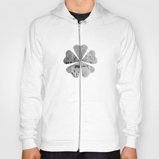 face texture white Hoody