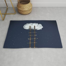 Stairway to the clouds Rug