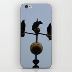 Scottish storm crows iPhone & iPod Skin