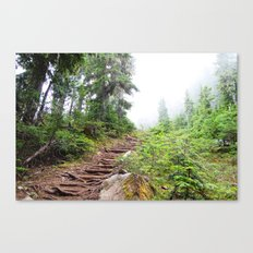 Trail to the Sky Canvas Print