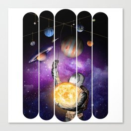 Outer Space Mobile Canvas Print
