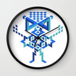 Dimension4 3 Wall Clock