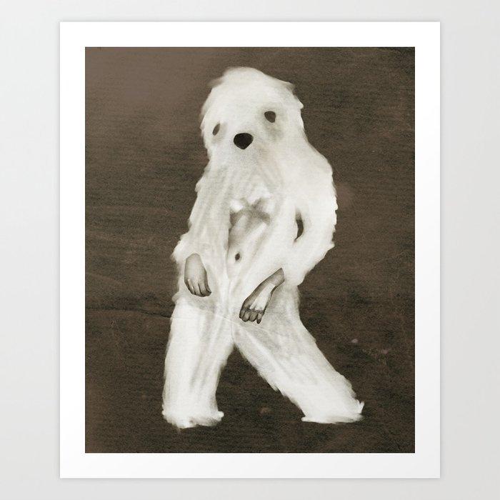 Yetti Art Print