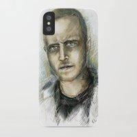 jesse pinkman iPhone & iPod Cases featuring Jesse Pinkman - Breaking Bad by Lisa Lemoine