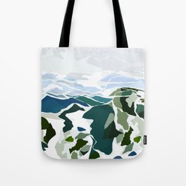 green mountains Tote Bag