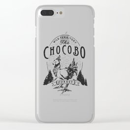 Chocobo Forest - Vintage Clear iPhone Case