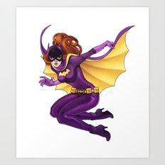 Yvonne Craig Batgirl Art Print