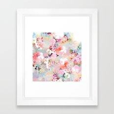 Love of a Flower Framed Art Print