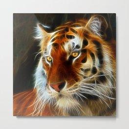 Tiger 3d artworks Metal Print