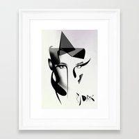 bjork Framed Art Prints featuring Bjork by PandaGunda