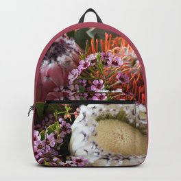 Protea arrangement Backpack