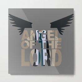 Angel of the lord Metal Print