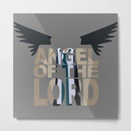 Angel of the lord Metal Print