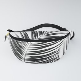 Black Palm Leaves Dream - Cali Summer Vibes #1 #tropical #decor #art #society6 Fanny Pack