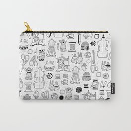 Vintage sewing Carry-All Pouch
