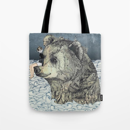 Bear Rock Tote Bag