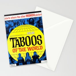 Taboos of the World Stationery Cards