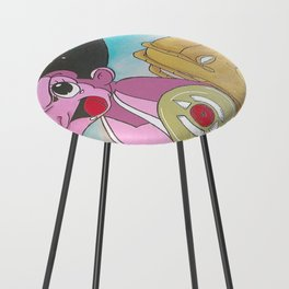 AstroBoy in AstroWorld Counter Stool
