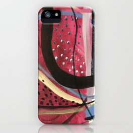 Modern Morphism iPhone Case