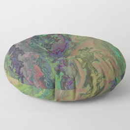 Upwards trip ( Abstract Painting nr. 1 ) Floor Pillow