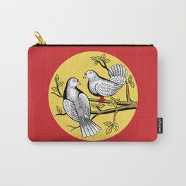 Two Doves Safety Matches Carry-All Pouch